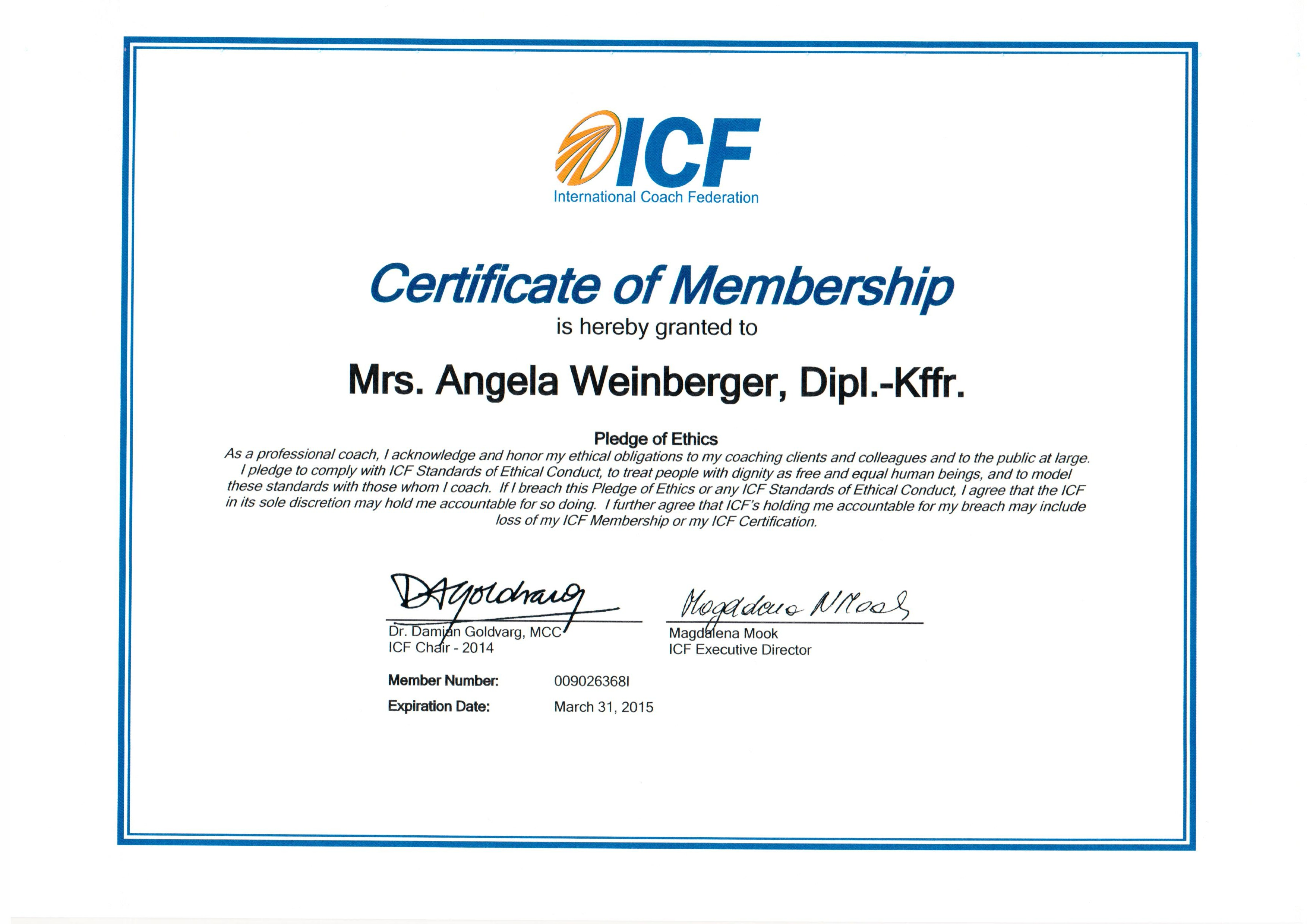 Certifications global people transitions gmbh icf 2014 angela weinberger 1 xflitez Choice Image