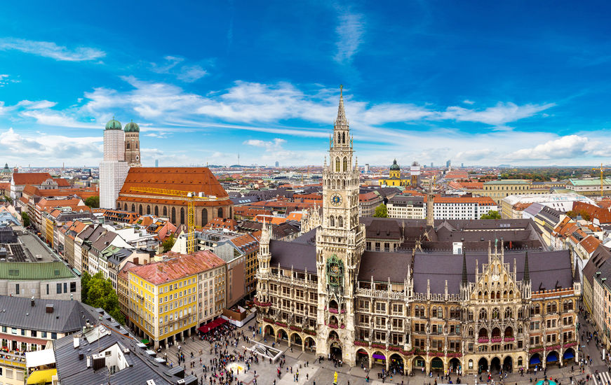Munich - A good place to learn German.