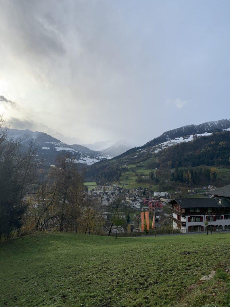 Ilanz, Graubuenden, Switzerland